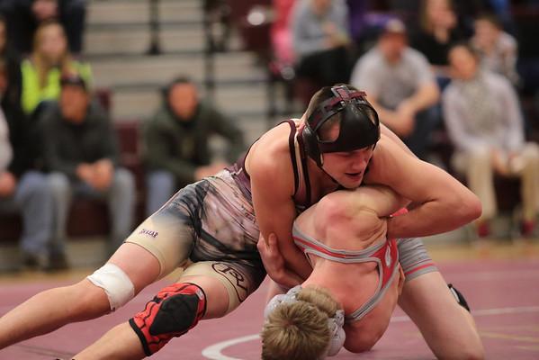 PV Wrestling Senior Night 2-10-14