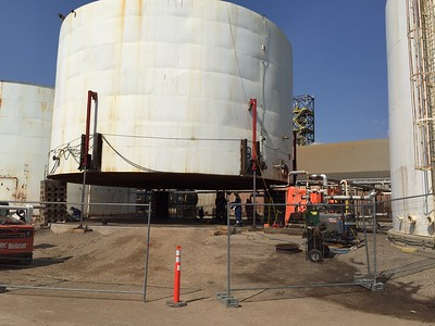 Tank Lifting and Leveling