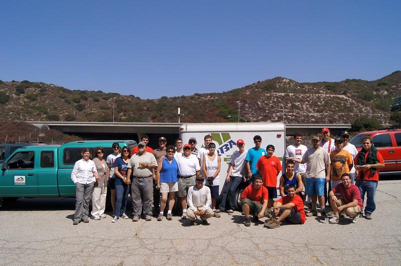 20110911060-Eagle Scout Project, Steven Ayoob, Verdugo Peak.JPG