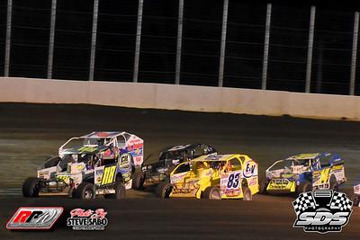 King Of The Big Blocks 100 - Bridgeport Motorsports Park - Super DIRTcar Series - 5/4/21 - Steve Sabo