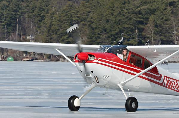 Alton Bay Ice Runway Fly-In 2012