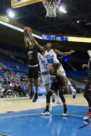 UCLA vs Utah State Womans Basketball Game Dec. 30, 2019