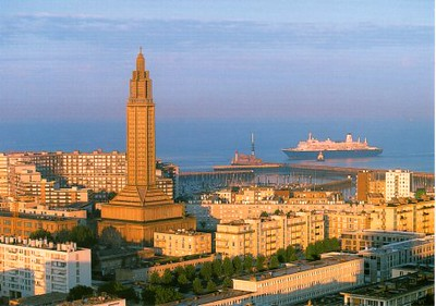 France with Ships & Lighthouses