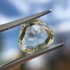 3.46ct Portrait Rose Cut Trapezoid Diamond GIA UV VVS2 30