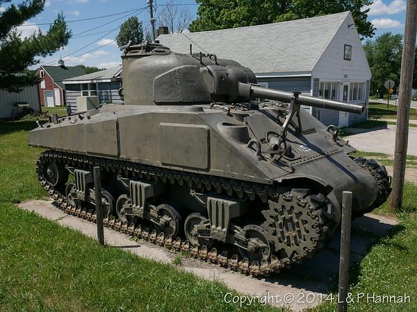 VFW Post 4087 - South Boardman, MI - M4A3(75)