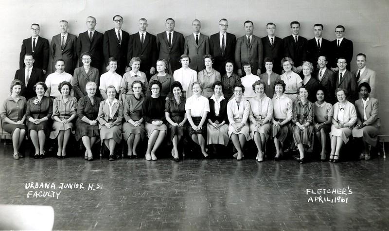 UJHS 1961 Teachers