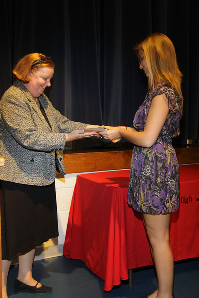 Awards Night 2012 - Student of the Year: Sewing for the Home