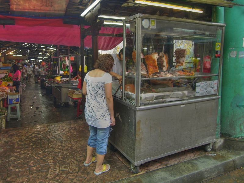 #10 - Blu-by-u  Street vendor.
