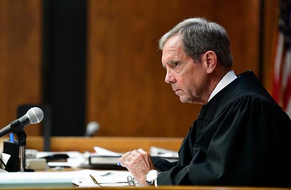 8/21/2019 Mike Orazzi | Staff Judge John Cronan in Bristol Superior Court on Wednesday.