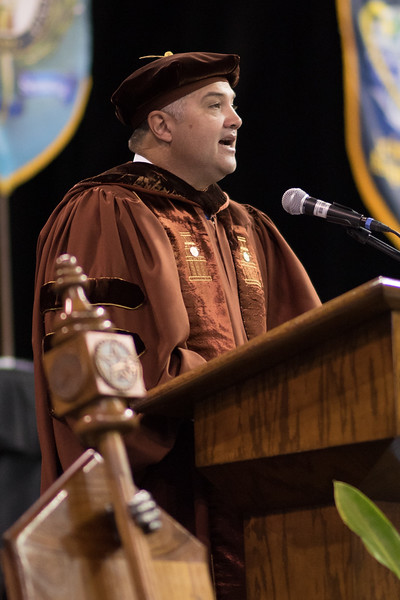 Mark Escamilla. Over 1,100 graduates received their degrees during two commencement ceremonies held on May 13.
