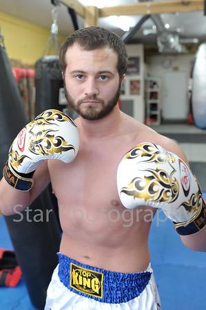 Muay Thai Fighter Korey Popplewell 11-8-2013