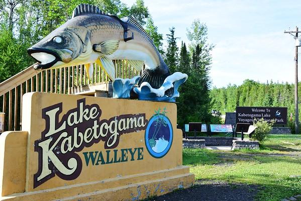 Fishing Voyageurs National Park