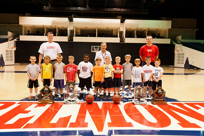 Kids Basketball Camp 2012