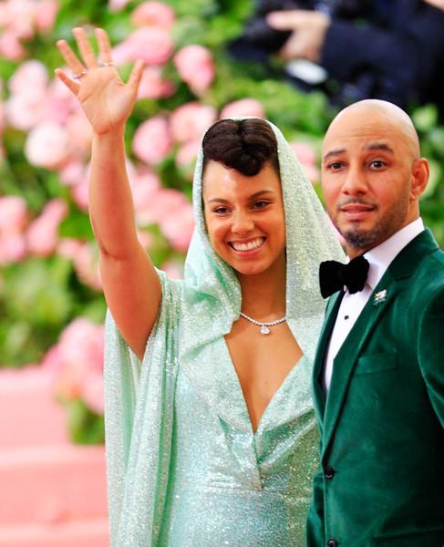Alicia Keys and Swizz Beat