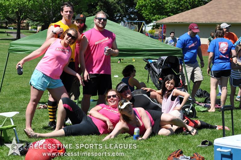 Recesstime Sports Leagues Portland Kickball Spring 2013 Dodgeball Bowling Ping Pong Mushball - 040