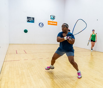 2018-10-28 Mixed Doubles - B - C Abigail Mann - Angel Arce Iporre over Chuter Coerbell - Sherry Richardson