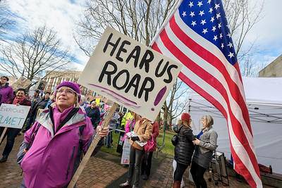 Women's March on Bellingham, Wash.,  on Saturday Jan. 21, 2017.