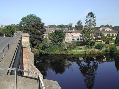 Chollerford Bridge over the North Tyne