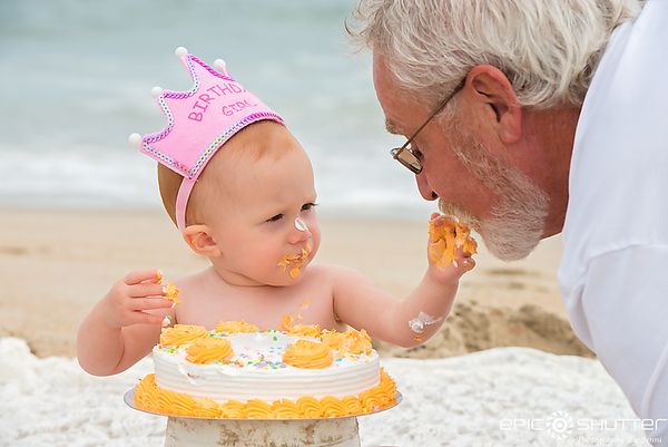 Avon, Ocean Isle Loop, Family Vacation, Cake Smash, First Birthday,Family Photos, Hatteras Island, North Carolina, Cape Hatteras National Seashore, Epic Shutter Photography