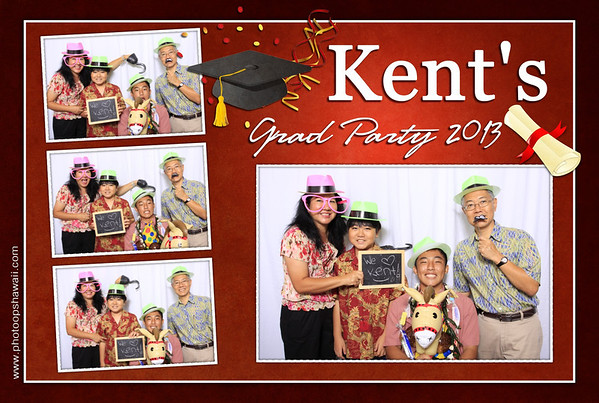 Kent's Graduation Party (Fusion Portraits)