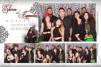 Kamuela & Sheree's Wedding (LED Open Air Photo Booth)
