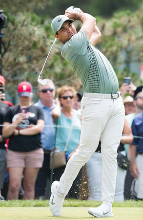 06/24/18 Wesley Bunnell   Staff The final day of The Travelers Championship at TPC River Highlands in Cromwell on Sunday June 24. Jason Day who would finish T12 with a -11 for the tournament.