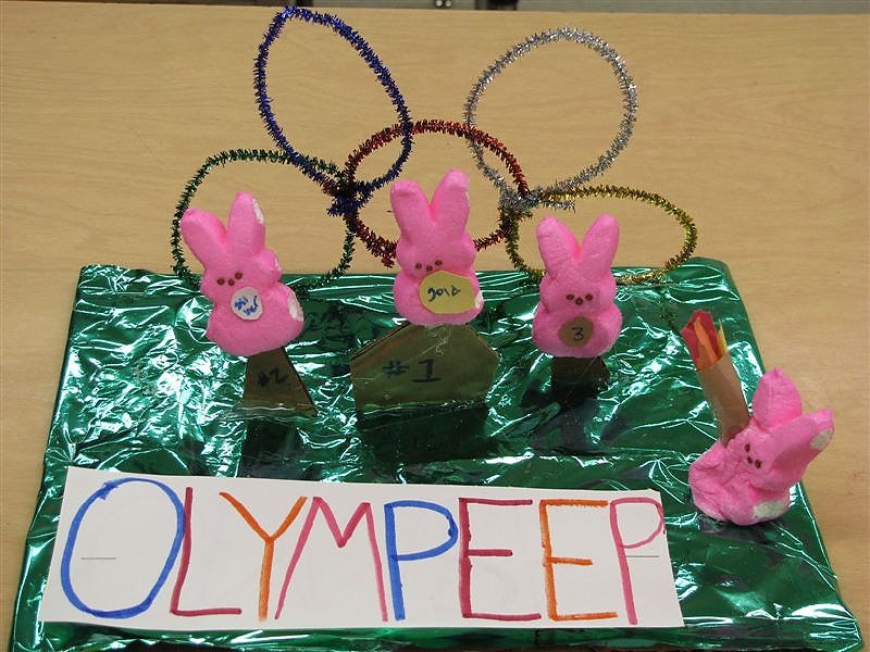 . Olympeep by Mireya Valdez, 16 years old