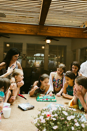 7-July 2017 :: Addie's 10th Birthday Party