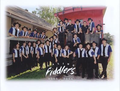 Saline Fiddlers 2003-2004 summer