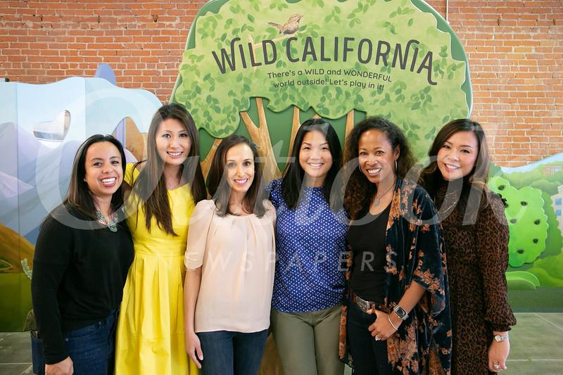 Sandra Cordero, Cheryl Mang, Roya Fohrer, Catherine Welch, Priscilla Traylor and Cindy Shih