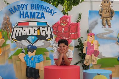 Hamza turns 9