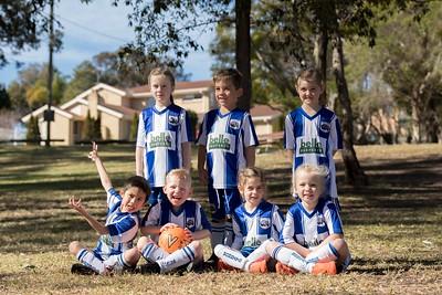 Wombats Under 6 Soccer Team 2018
