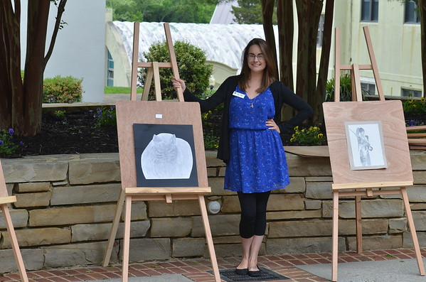 Kayla Jones' Art Class Exhibit