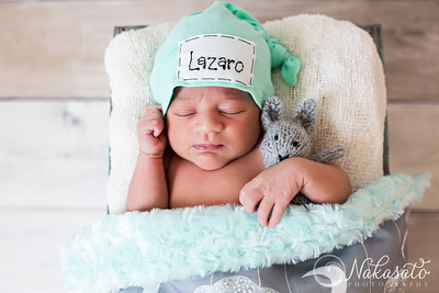 Lazaro {newborn session}