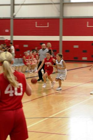 Girls Middle School Basketball 7B - 2008-2009 - 9/22/2008 Tri-County