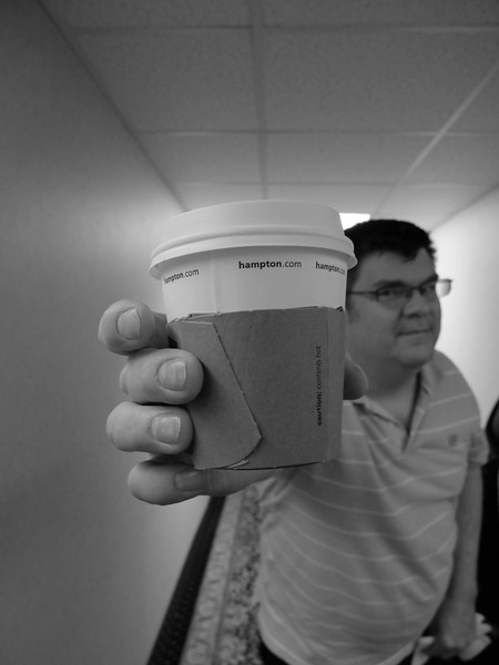 our travel shoots are powered by coffee & Hampton Inn