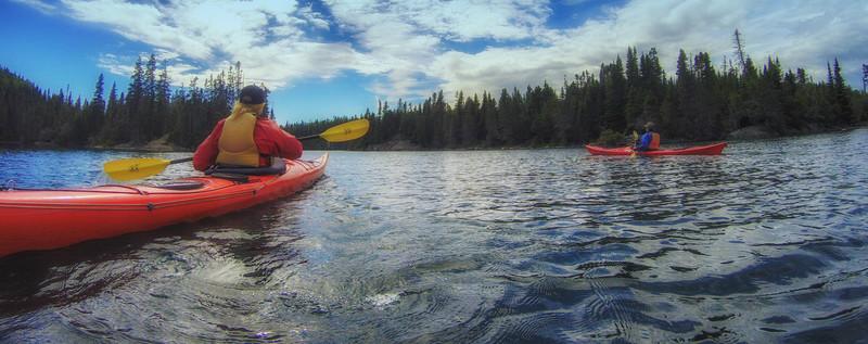 Kayaking Slate Islands