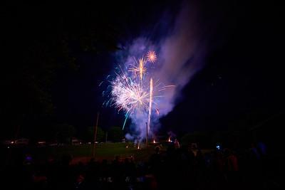 2019 UWL Fireworks St Joseph's Ridge