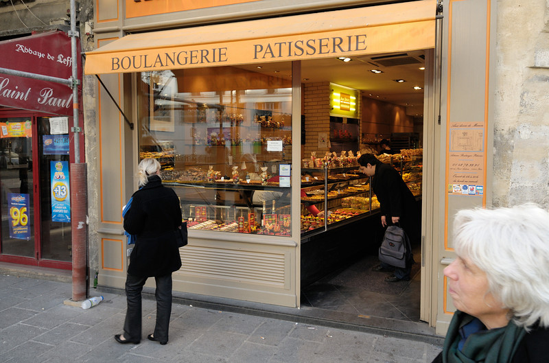 Just on Saint-Paul square (is it a square or just a metro stop?). Our preferred source of baked goods, local and tasty.