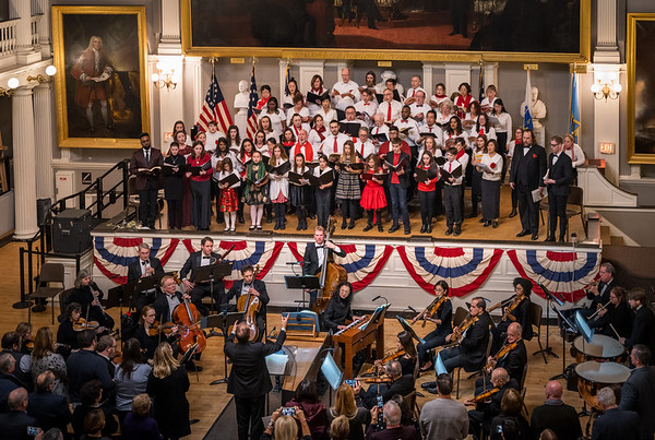 Handel's Messaih at Faneuil Hall performed by NEMPAC and Landmarks Orchestra