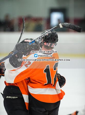 1/13/2016 - Boys Varsity Hockey - Belmont Hill vs Thayer