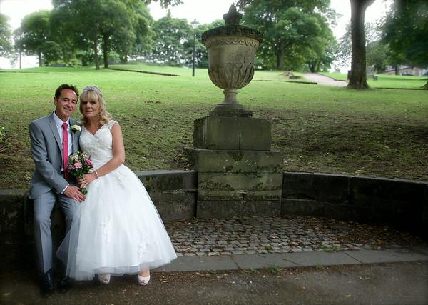 Janet and Chris Wedding Old Hall Hotel Buxton