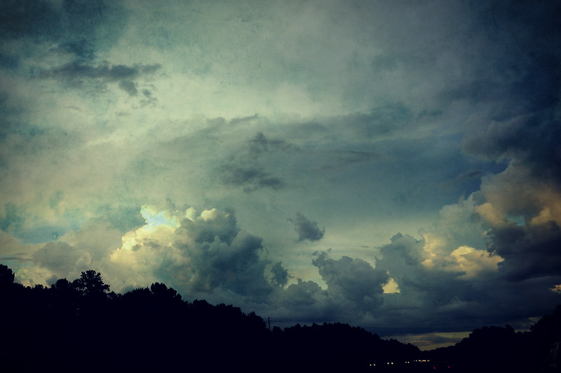 Just some clouds.