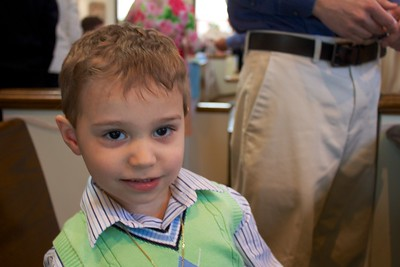 James Baptism April 2014