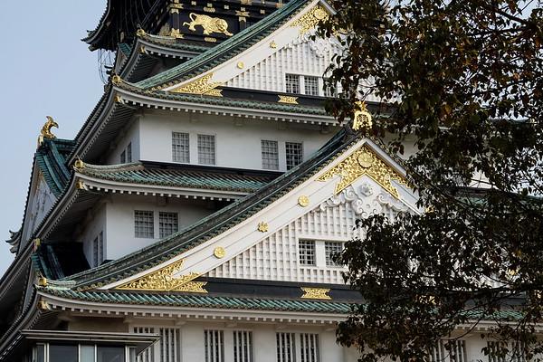 Osaka Castle (Ume season)