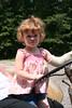 Maren on the Tractor