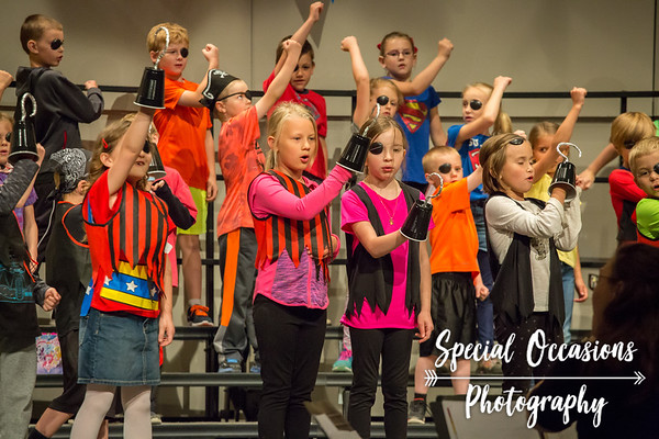 Delano 1st Grade Choir Concert