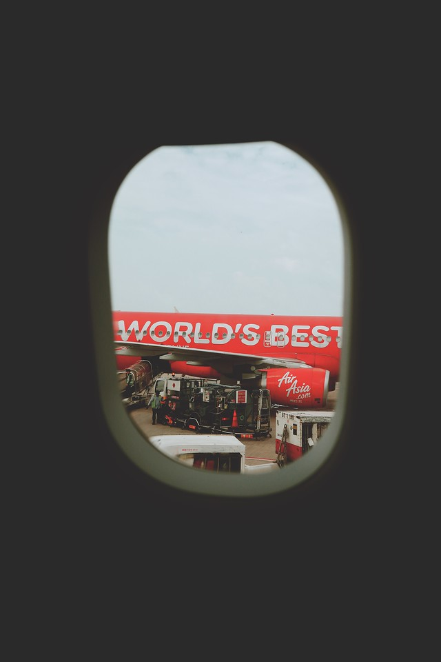 AirAsia Plane Window