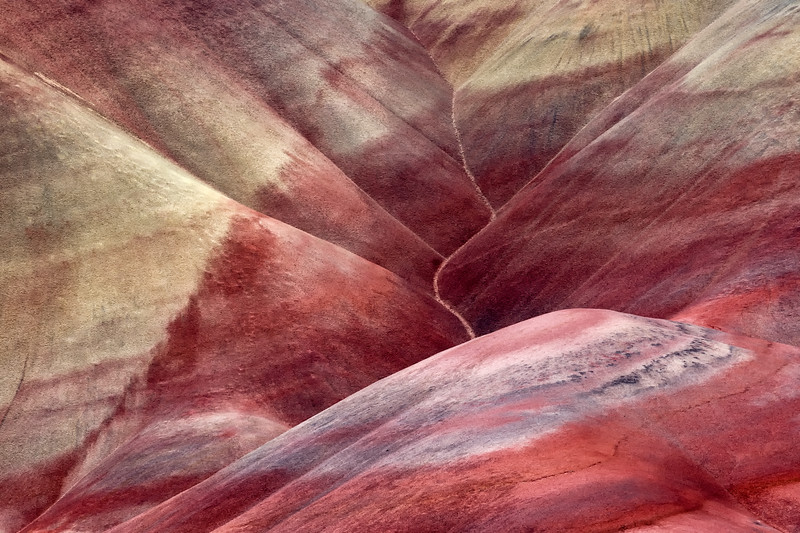 Colorful Slopes at Painted Hills