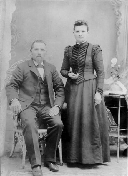 Theodore & Minnie Schaff